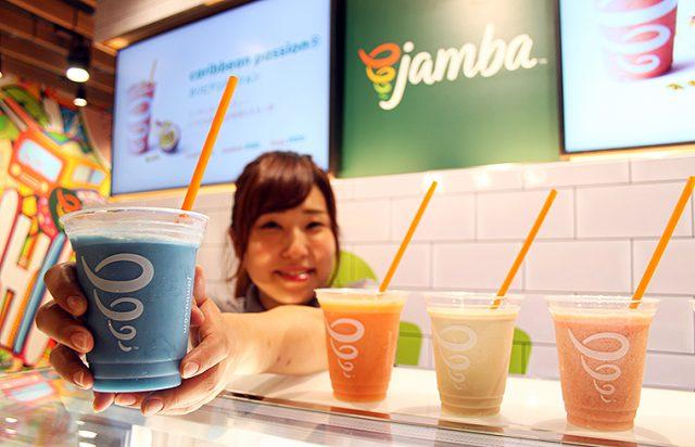 全米No.1スムージージュース専門店「Jamba」横浜駅と東京ドームシティにオープン!